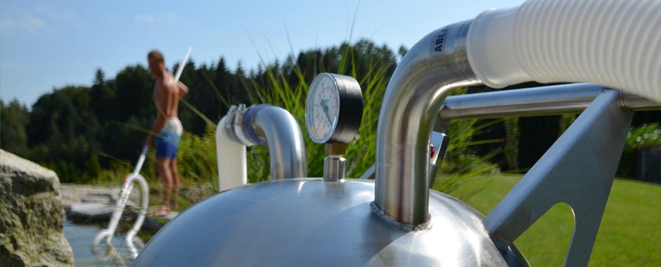 Home teichreinigungspumpe pondball hw 300 teichpflege for Teich reinigen